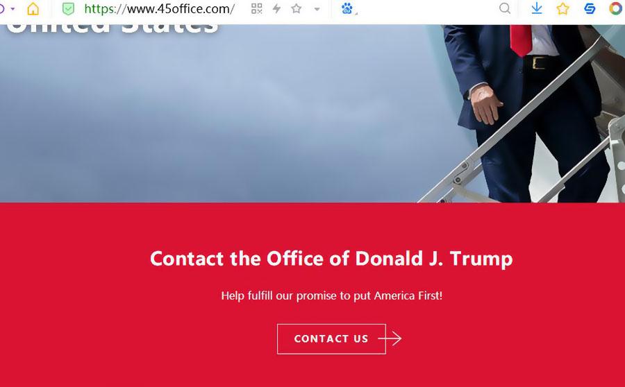 由特朗普都开通个人网站引发的思考:网站建设真的没用吗?-悦然网络工作室