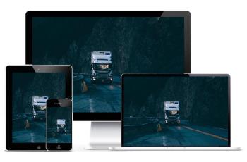 网站建设案例:长沙运输公司企业网站建设
